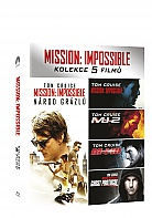 MISSION IMPOSSIBLE 1 - 5 Kolekce (5 Blu-ray)