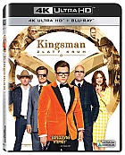 KINGSMAN: Zlatý kruh  (4K Ultra HD + Blu-ray)