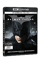 BATMAN ZAČÍNÁ (4K Ultra HD + 2 Blu-ray)