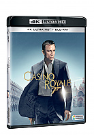 JAMES BOND 007: Casino Royale  (4K Ultra HD + Blu-ray)