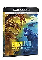 GODZILLA II KRÁL MONSTER (4K Ultra HD + Blu-ray)