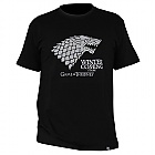 "TRIČKO GAME OF THRONES - ""Winter is coming"" pánské, černé XL (Merchandise)"